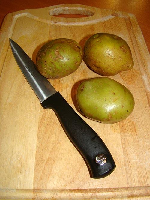مواد لازم برای سیب زمینی سرخ کرده