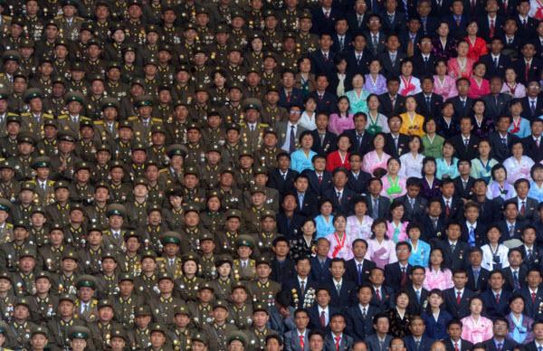 مراسم گرامیداشت صدمین سال تولد کیم ایل سونگ در پیونگیانگ