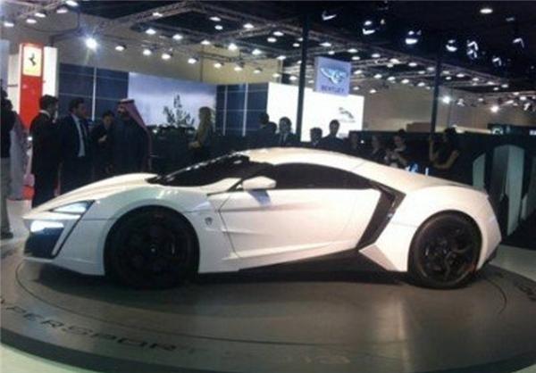 خودروی پسر امیر قطر با قیمت 3.5 میلیون دلار