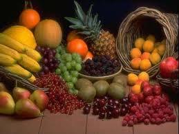 خواص میوه ها با توجه به رنگ آنها