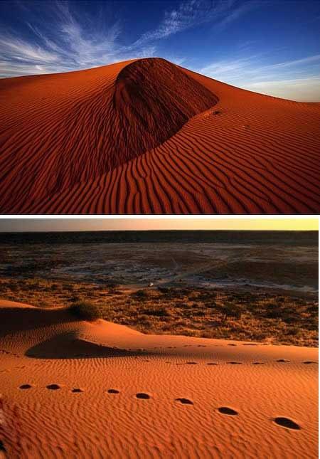 آشنایی با عجیب ترین صحراهای دنیا + عکس