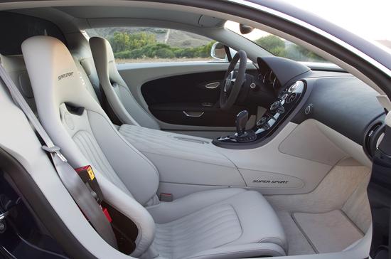 تصاویر بوگاتی ویرون سوپر اسپرت جدید