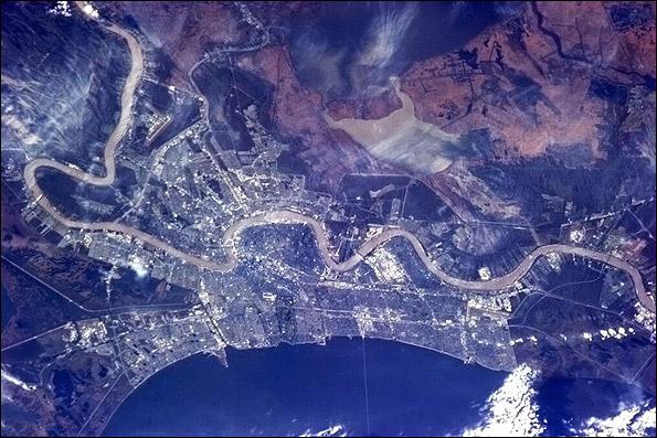 انتشار جدیدترین عکس های زمین از فضا