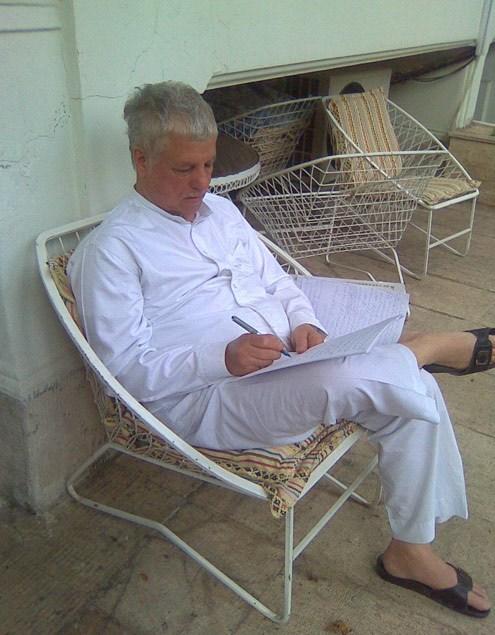 هاشمی رفسنجانی در منزل شخصی اش