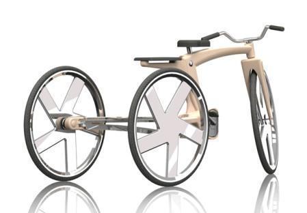 دوچرخه جالب همه کاره و زیبا + تصاویر