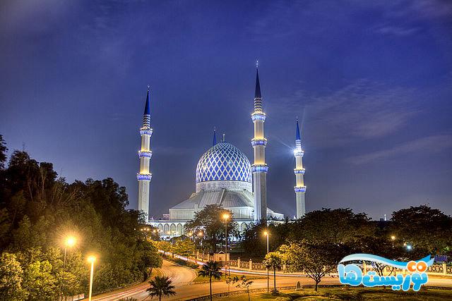 مسجد آبی Kuala Lumpur