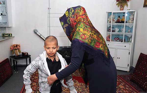 بیماری دردناک محمدامین