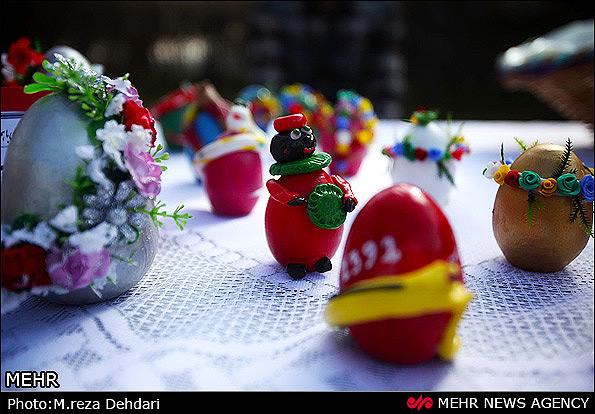 تصاویری از تزئین سفره هفت سین