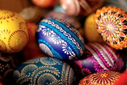 تخم مرغ واسه سفره هفت سین