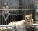 12 ماه زندگی در قفس شیرها +عکس