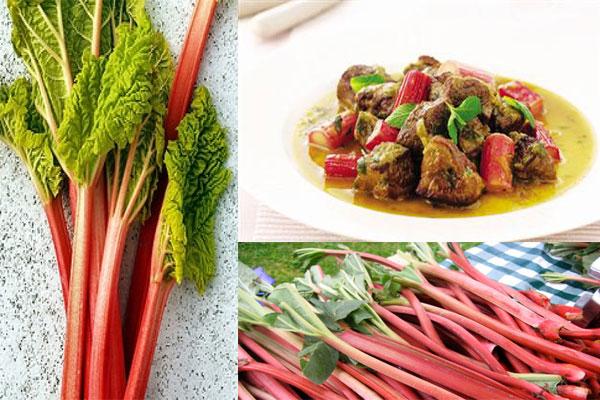 لیست غذاهای بهاری,خورش ریواس
