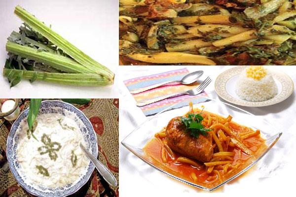 لیست غذاهای بهاری,خورش کنگر