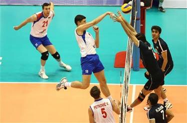 والیبال - دیدار دوم تیمای ایران و صربستان