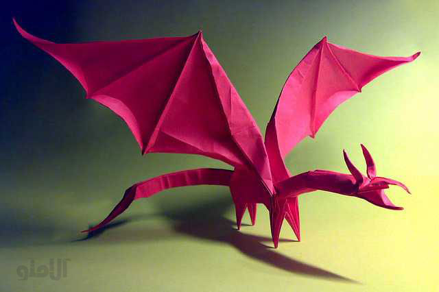 Simple-Dragon-Shuki-Kato-Beautiful-3D-Origami-by-Jaroslav-Mishchenko
