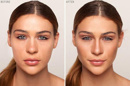آموزش گریم صورت,گریم و زیرسازی چهره