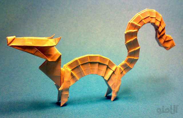 dragon-Beautiful-3D-Origami-by-Jaroslav-Mishchenko
