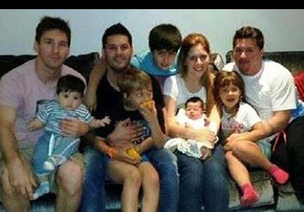 عکس خانوادگی مسی