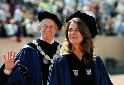 قدرتمندترین زنان دنیا,ریس بنیاد بیل و ملیندا گیتس
