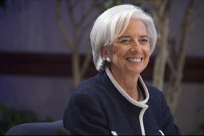 قدرتمندترین زنان دنیا,کریستین لاگارد مدیرعامل صندوق بین المللی پول