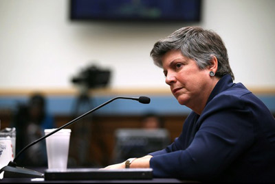 قدرتمندترین زنان دنیا,جانت ناپولیتانو وزارت امنیت داخلی آمریکا