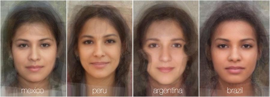 مقایسه چهره زنان در 38 کشور جهان