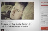 ۸ سال حبس برای یک کامنت در فیس بوک/عکس