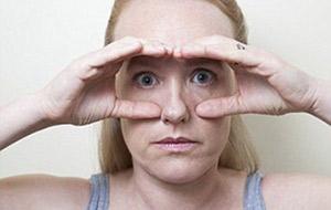 ماساژ دادن صورت,حالت جغد یوگای صورت