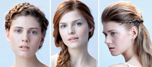 گیس کردن موها,بافت مدل تاجی