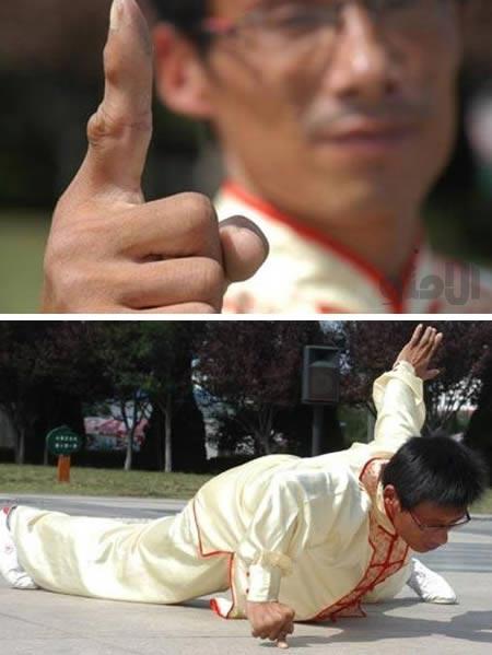 قوی ترین انگشت دنیا
