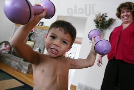 قوی ترین کودک دنیا