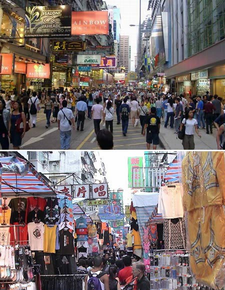 شلوغ ترین محله دنیا
