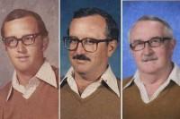 معلمی که 40 سال یک لباس را پوشید + عکس