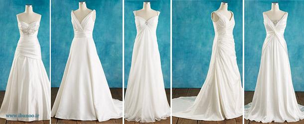 لباس عروس برای افراد سایزبزرگ