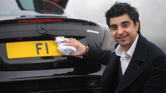 مردی که پلاک خودرویش را 9 میلیون دلار نفروخت