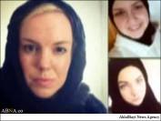 زنان سوئدی کمپین حجاب راه انداختند / عکس