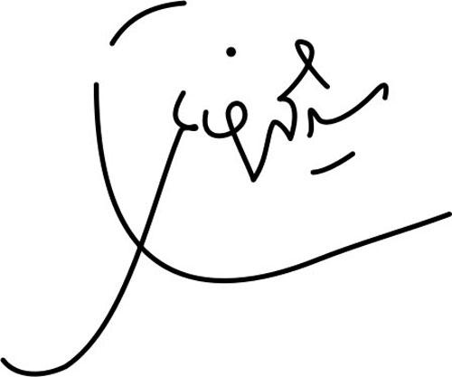 امضای سید محمد خاتمی
