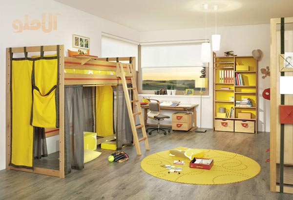 Kids-Room-Layout-Ideas-Bunk-Beds