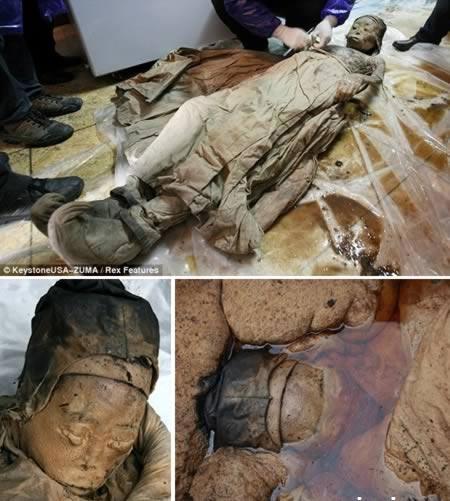 مومیایی 700 ساله
