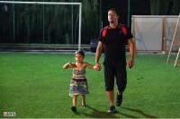 پژمان بازغی به همراه دخترش / عکس