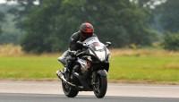 شکست رکورد سرعت موتورسواری نابینایان +عکس