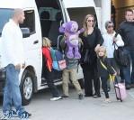 عکس های جدید آنجلینا جولی و فرزندانش در سیدنی
