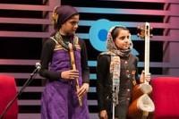 درخشش دختر نابغه همدانی در بین بزرگان موسیقی+تصاویر