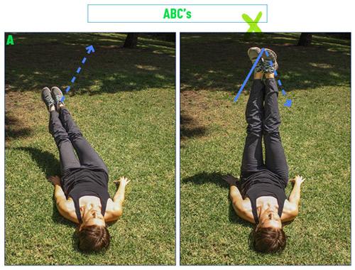ABC تمرینات