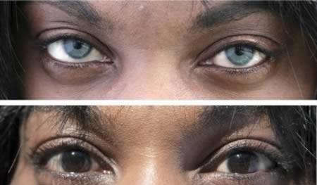 تغییر رنگ چشم