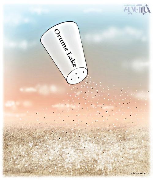 دریاچه ارومیه - کاریکاتور
