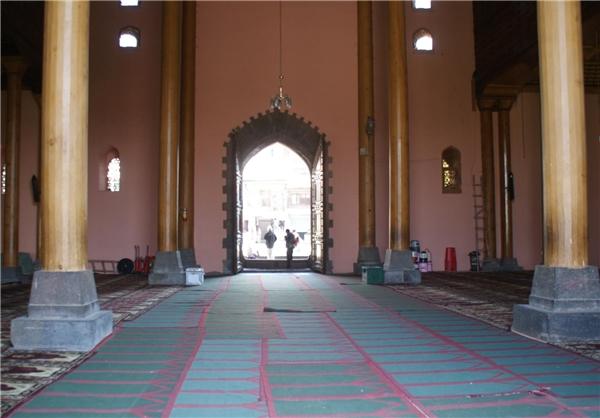 نگاهی به مسجد اعظم کشمیر هند + عکس
