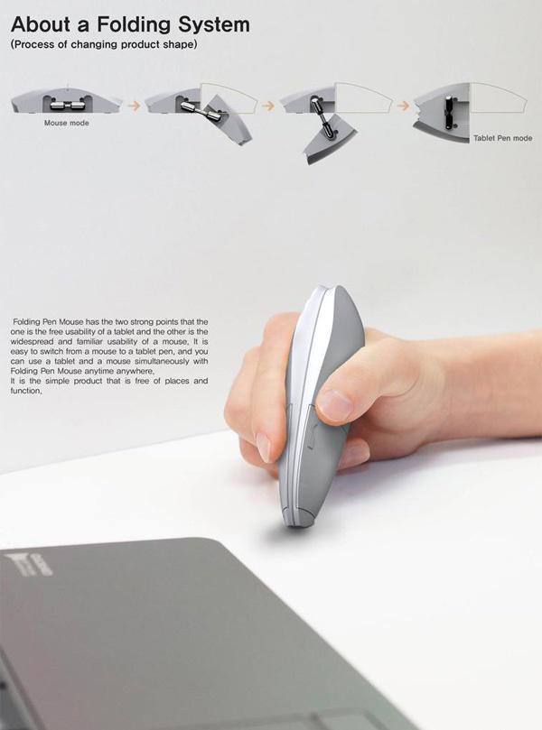 ماوسی که تبدیل به قلم نوری می شود + عکس
