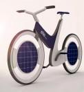 دوچرخه خورشیدی زیبا با طراحی ایرانی + عکس