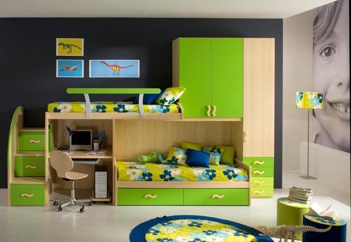 مدل دکوراسیون جدید اتاق خواب پسرانه