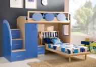 دکوراسیون اتاق خواب پسرانه / رنگ آبی